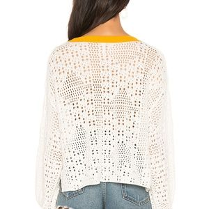Free People Sweaters - FREE PEOPLE Home Run Crop Sweater